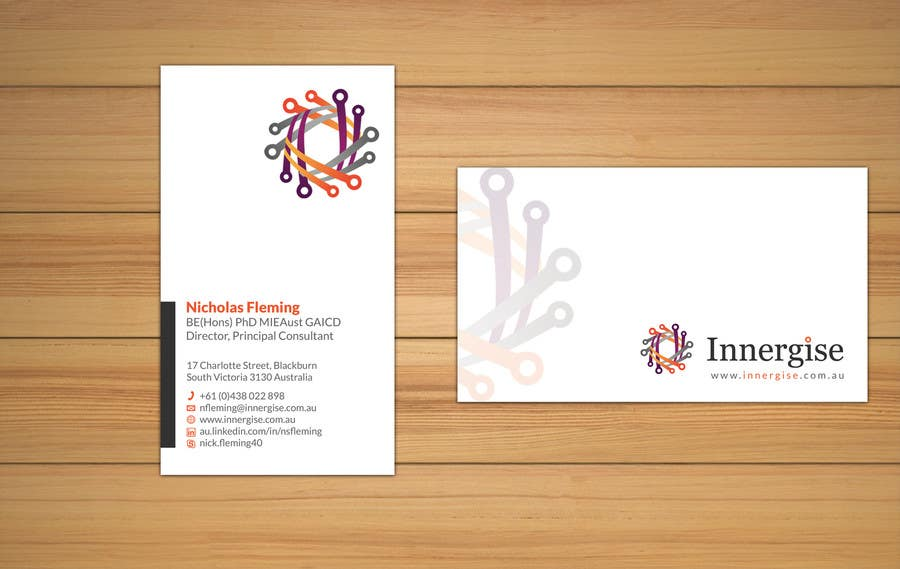 Entry 222 by smshahinhossen for design business cards for innergise contest entry 222 for design business cards for innergise reheart Choice Image