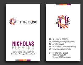 #262 cho Design business cards for Innergise bởi sridharsilver