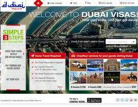iNoesis tarafından Build a Website for dubaivisas.co.uk için no 63