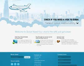 #82 untuk Build a Website for dubaivisas.co.uk oleh Neruna