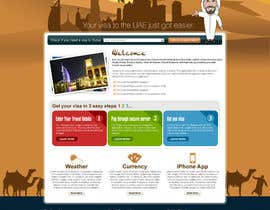 #48 untuk Build a Website for dubaivisas.co.uk oleh Azavedo