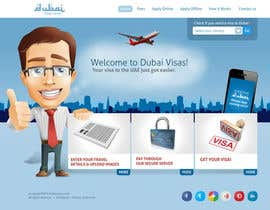 #81 untuk Build a Website for dubaivisas.co.uk oleh chithrarahul