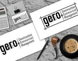 Nro 21 kilpailuun Design a Logo for Gero Construction Commercial Management käyttäjältä babaprops
