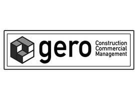 #42 para Design a Logo for Gero Construction Commercial Management por hamzahafeez2000