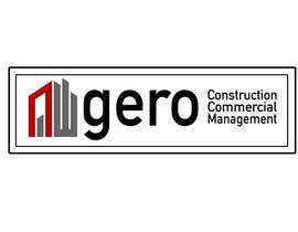 #46 para Design a Logo for Gero Construction Commercial Management por hamzahafeez2000