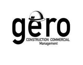 #51 para Design a Logo for Gero Construction Commercial Management por hamzahafeez2000