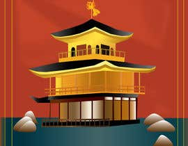 #9 para Illustrate Something for Golden Pavillion Temple (Japan) por EVaZoloto