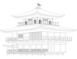 #10 para Illustrate Something for Golden Pavillion Temple (Japan) por harool