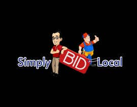 #68 untuk Design a Logo for bid website: SimplyBidLocal.com    (Be part of a new start up) oleh Herry1an