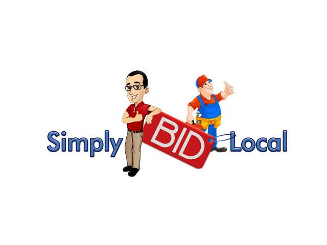 Contest Entry #69 for Design a Logo for bid website: SimplyBidLocal.com    (Be part of a new start up)