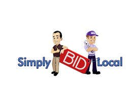 #78 untuk Design a Logo for bid website: SimplyBidLocal.com    (Be part of a new start up) oleh Herry1an