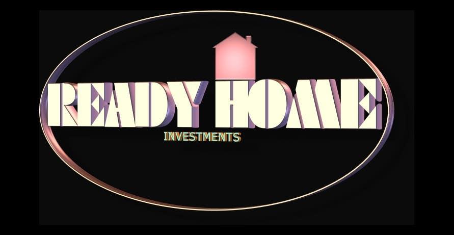 Inscrição nº 84 do Concurso para Design a Logo for Ready Home Investments