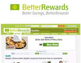 #17 for Logo and Masthead Design for Better Rewards by santarellid