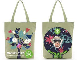 #8 untuk Design Graphic for a Bag (back and front) oleh SilvinaBrough