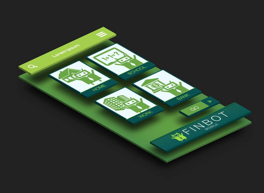 Bài tham dự cuộc thi #12 cho Very simple contest - design two iPhone screenshot mockups