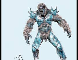 Gimio tarafından Create a Yeti Monster wearing Ice Armor için no 1