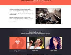 #2 untuk Design a Website for Music Band introduction site oleh SadunKodagoda