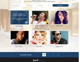 nº 21 pour Design a Website for Music Band introduction site par SadunKodagoda