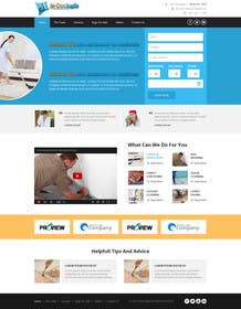 #16 untuk JDI: Design a Website Mock-up for a Home Service Company oleh kreativeminds