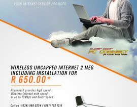 sharundass tarafından Design an Advertisement for Wireless Internet 2 için no 20
