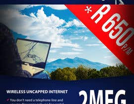 Decomex tarafından Design an Advertisement for Wireless Internet 2 için no 45