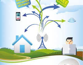 zeddcomputers tarafından Design an Advertisement for Wireless Internet 2 için no 47