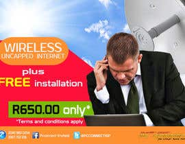 #44 untuk Design an Advertisement for Wireless Internet 2 oleh omonditoons