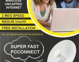 #43 untuk Design an Advertisement for Wireless Internet 2 oleh creazinedesign