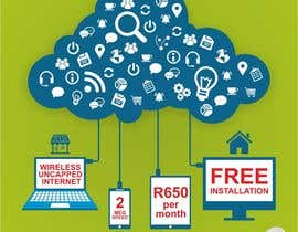 creazinedesign tarafından Design an Advertisement for Wireless Internet 2 için no 54