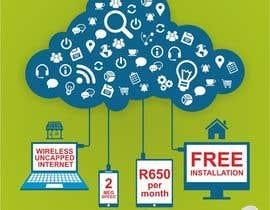 Nro 54 kilpailuun Design an Advertisement for Wireless Internet 2 käyttäjältä creazinedesign
