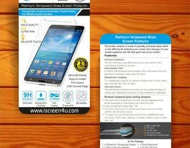 #13 untuk Create Print and Packaging Designs for iScreen4u Tempered Glass Screen Protector oleh creazinedesign