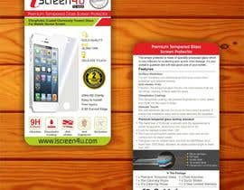#14 untuk Create Print and Packaging Designs for iScreen4u Tempered Glass Screen Protector oleh creazinedesign