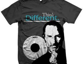 #38 untuk T-shirt Design for IndoPotLuck - Steve Jobs Tribute oleh feddyups