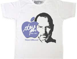 #75 para T-shirt Design for IndoPotLuck - Steve Jobs Tribute por raamsankar