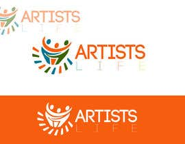 #299 untuk Design a Logo for Artists Life oleh HonestDesignerz