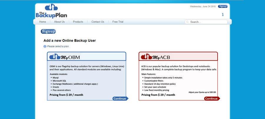 Penyertaan Peraduan #2 untuk Design 2 web signup buttons