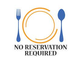 "#80 untuk Design a Logo for ""No Reservations Required"" oleh rajarajan95388"