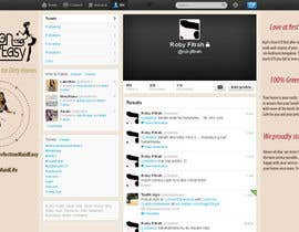 #7 cho Design a Twitter background for Company bởi juntenx