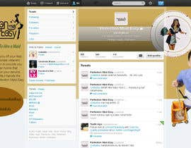 #13 cho Design a Twitter background for Company bởi juntenx