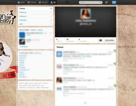 #4 untuk Design a Twitter background for Company oleh littleladyju