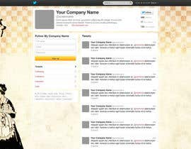 #3 untuk Design a Twitter background for Company oleh amiho910