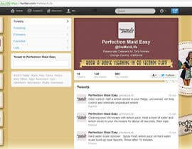 #10 cho Design a Twitter background for Company bởi PereViki