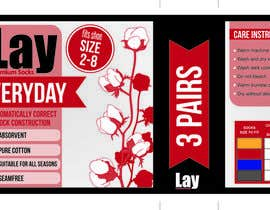 #2 untuk Create Print and Packaging Designs for Lay 3 Pair Pack oleh AnnaMartinez