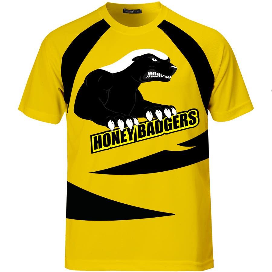 design a t shirt for a sports team freelancer
