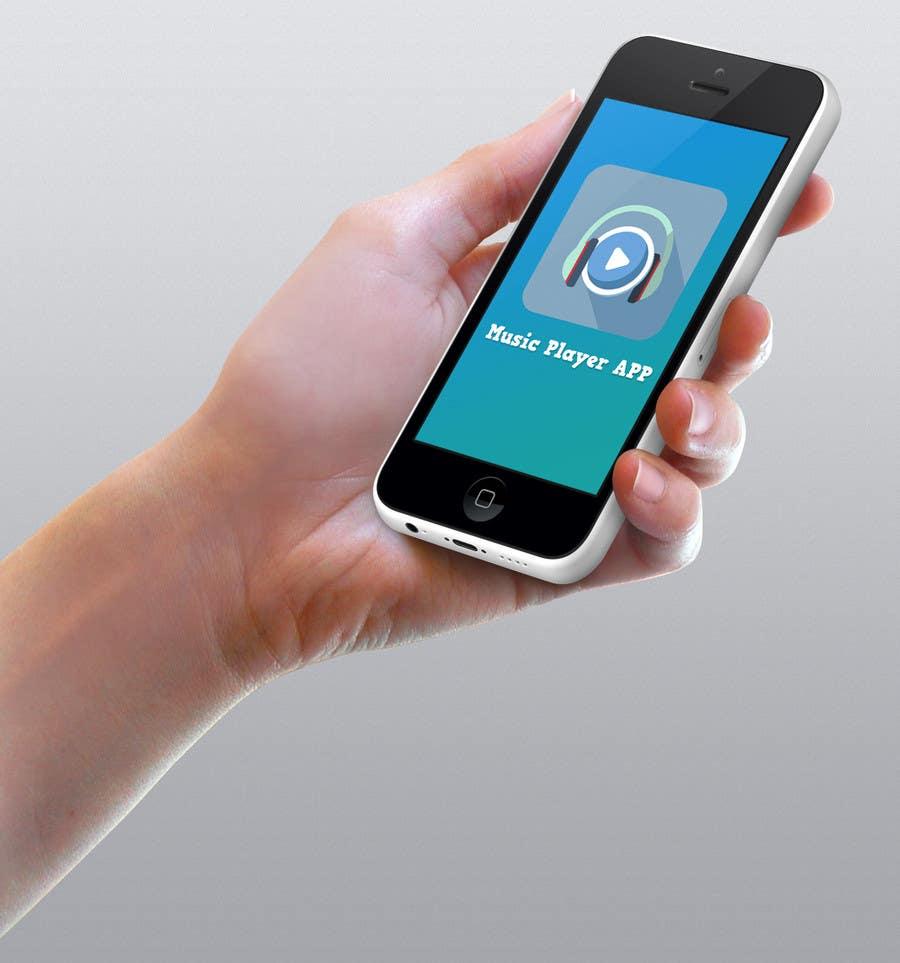 Kilpailutyö #33 kilpailussa Design a Logo for a Music Player app