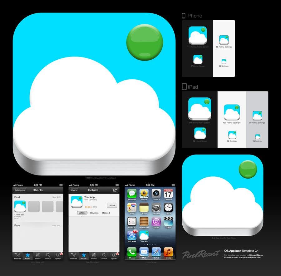 Bài tham dự cuộc thi #                                        4                                      cho                                         Design new icon for existing iOS app