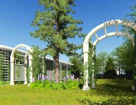 #6 untuk Arts and Crafts (Mission Style or Prairie style) archways and trellis design oleh figaidea