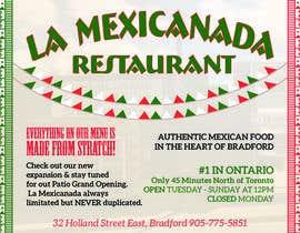 #1 untuk Design an Advertisement for Mexican Restaurant oleh ozgunsaglam