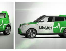 #5 untuk Design wrap for our mobile solution car, phone company oleh elgu
