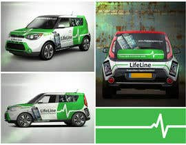 #28 untuk Design wrap for our mobile solution car, phone company oleh elgu